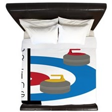 Curling Field King Duvet