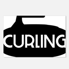 Curling Stone Postcards (Package of 8)