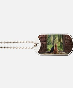 Doorway into Forever C Dog Tags