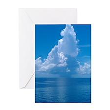 Gulf Clouds Greeting Card