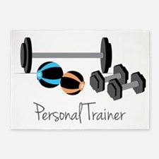 Personal Trainer 5'x7'Area Rug