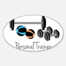 Personal Trainer Sticker (Oval)
