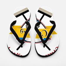 Championship Curling Flip Flops