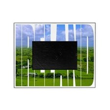 Ireland Green Pastures Photo Picture Frame