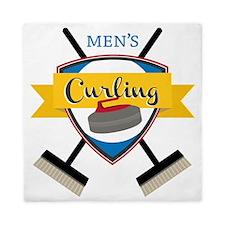 Men's Curling Queen Duvet