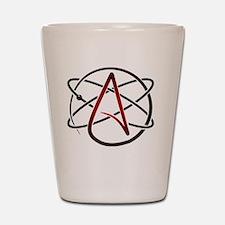 Modern Atheist Atomic Color Shot Glass