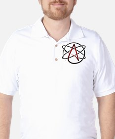 Modern Atheist Atomic Color Golf Shirt