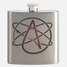 Modern Atheist Atomic Color Flask