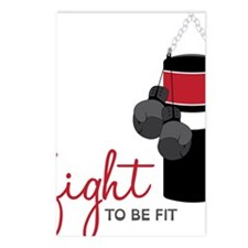 Fight to be Fit Postcards (Package of 8)