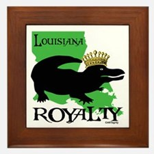 Louisiana Royalty Framed Tile