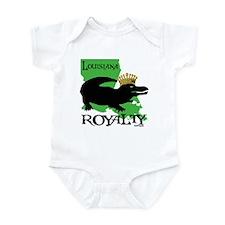 Louisiana Royalty Infant Bodysuit