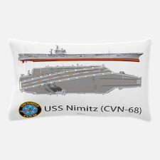 USS Nimitz CVN-68 Pillow Case