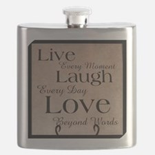live laugh love Flask