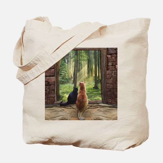 Doorway into Forever nc Tote Bag