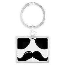 Mustache-087-A Landscape Keychain