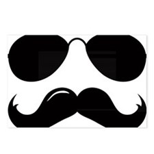 Mustache-087-A Postcards (Package of 8)
