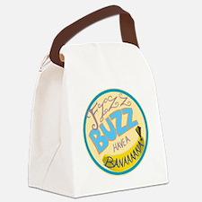 Cabin Pressure: FIZZ BUZZ HAVE A  Canvas Lunch Bag