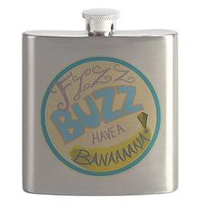 Cabin Pressure: FIZZ BUZZ HAVE A BANAAAANA! Flask