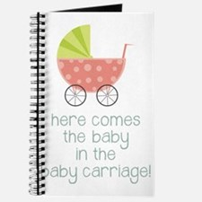 Baby in the Baby Carriage Journal
