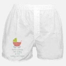 Baby in the Baby Carriage Boxer Shorts