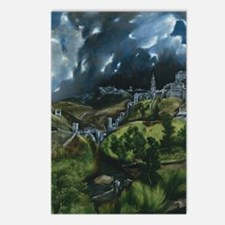 El Greco View of Toledo Postcards (Package of 8)