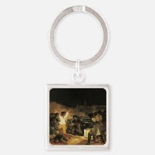 Francisco de Goya The Third Of May Square Keychain