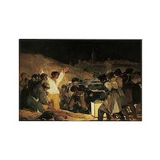 Francisco de Goya The Third Of Ma Rectangle Magnet