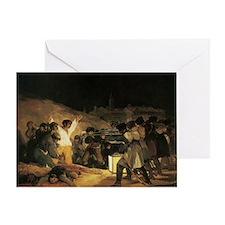 Francisco de Goya The Third Of May Greeting Card