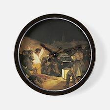 Francisco de Goya The Third Of May Wall Clock