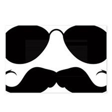 Mustache-078-A Postcards (Package of 8)