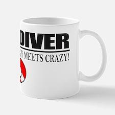 Cave Diver 2 (front) blk Mug