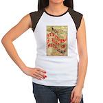Flat Michigan Women's Cap Sleeve T-Shirt