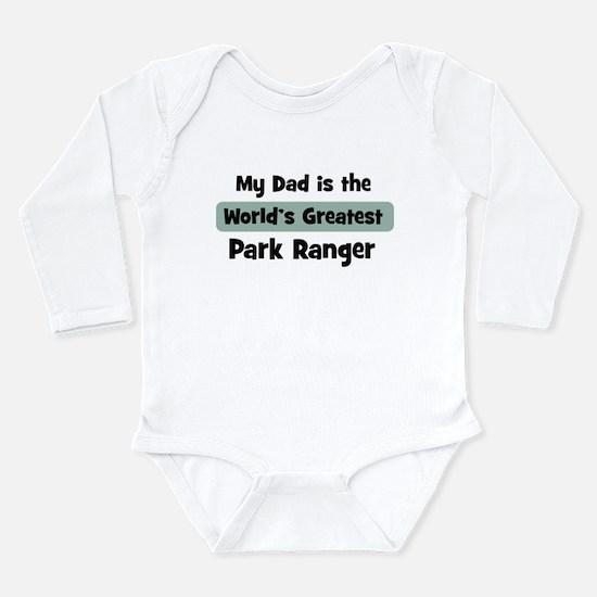 Worlds Greatest Park Ranger Infant Bodysuit Body S
