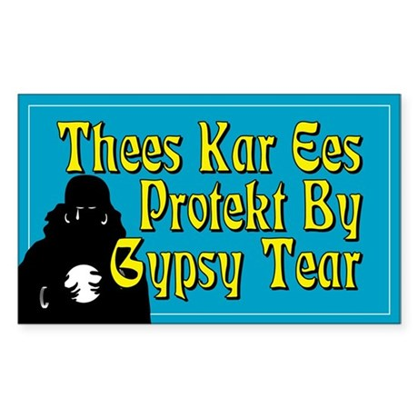 Thees Kar is Protekt by Gypsy Tears