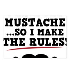 Mustache-076-A Postcards (Package of 8)