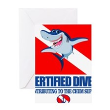 Certified Diver Greeting Card