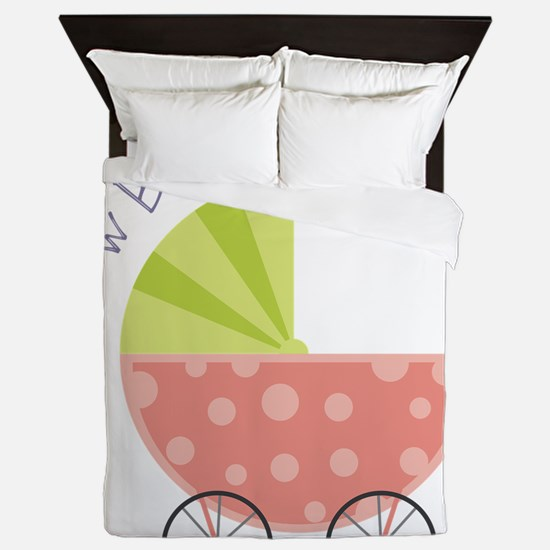 New Baby Queen Duvet