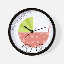 New Baby Wall Clock