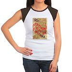 Flat Indiana Women's Cap Sleeve T-Shirt