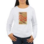 Flat Indiana Women's Long Sleeve T-Shirt