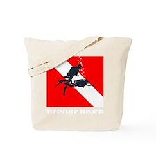 Rescue Diver (white) Tote Bag