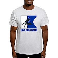 Dive Australia (blue) T-Shirt