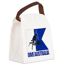 Dive Australia (blue) Canvas Lunch Bag