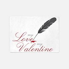 My Valentine 5'x7'Area Rug