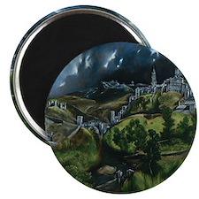 El Greco View of Toledo Magnet