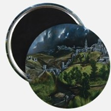 El Greco View of Toledo Magnet