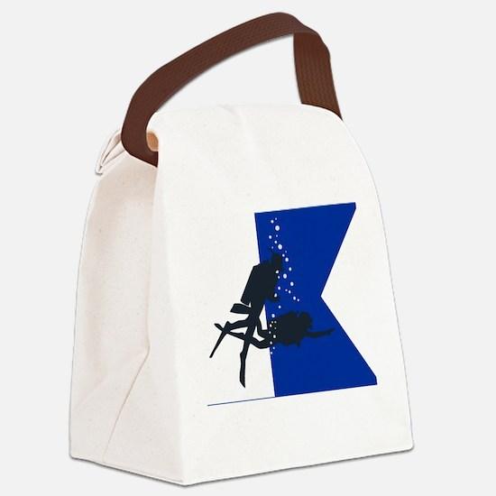 Dive Australia (white) Canvas Lunch Bag