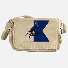 Dive Australia (white) Messenger Bag