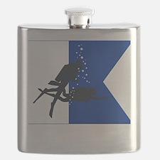 Dive Australia (white) Flask