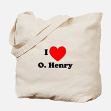 I Love O. Henry Tote Bag